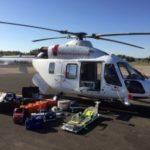 Волгоградский вертолет санавиации с начала года эвакуировал семь человек