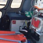 Вертолет санавиации доставил пациента в новгородскую больницу